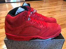 release date: 69437 3f668 Air Jordan 5 Raging Bull Red Suede for sale | eBay