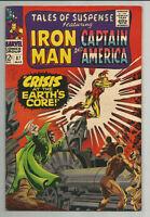 TALES OF SUSPENSE #87 - IRON MAN - CAPTAIN AMERICA - MARVEL 1967