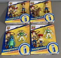 *BRAND NEW* Lot of 4 Fisher Price Imaginext Toy Story 4 Figure Packs Forky Buzz