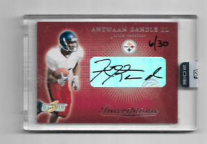 ANTWAAN RANDLE EL 2016 HONORS BUY BACK ROOKIE AUTOGRAPH 6/30 $40.00 STEELERS