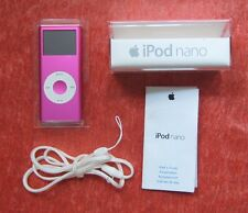 Apple iPod Nano 2. Generation, 4 GB Pink mit OVP, Defekt