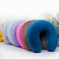 Amortiguador de la espuma Memoria almohada en forma de U Reposacabezas Cuello