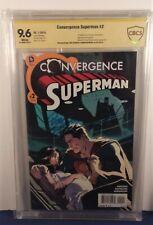 CONVERGENCE SUPERMAN #2 9.6 -1st Jonathan Kent - SIGNED 2x Jurgens CBCS not cgc