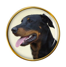 Beauceron Chien Revers Broche Badge