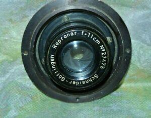 Lens Schneider Gottingen  Repronar 11cm  110mm f1:1 to f16