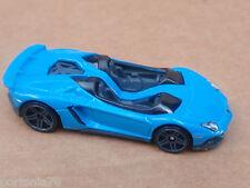 2014 Hot Wheels LAMBORGHINI AVENTADOR J 196/250 All Stars LOOSE Blue