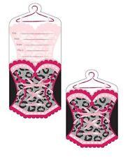 Bridal Bash 8 ct Invitations Pop Up Shower Lingerie Bachelorette Party Supplies