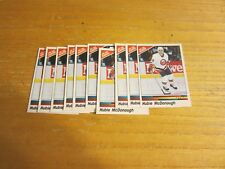 Hubie McDonough Lot of 10 1990-91 Panini Stickers #92 Cards NHL Hockey Islanders