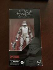 "Star Wars Black Series 6"" First Order Jet Trooper #99 - NIP 2019"