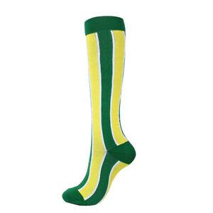 Unisex Sports Pressure Socks Outdoor Compression Stretch Socks Breathable