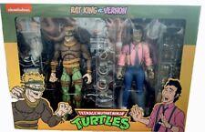 Neca TMNT Teenage Mutant Ninja Turtles Rat King and Vernon 2 Pack SEALED???