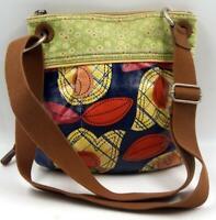 Fossil 'Key-Per' Women's Coated Canvas Crossbody Messenger Bag