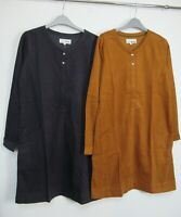 New Mistral Plain Cord tunic dress With Pockets Size 8 - 18