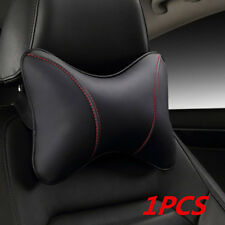 Car wear-resistant PU Safety Car Headrest Breathe Seat Head Neck Rest Pillow 1X