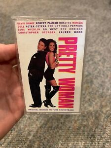 Rare! Pretty Woman Original Soundtrack Cassette Tape 1990 Bowie Peppers Go west