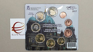 2017 SPAGNA 9 monete 5,88 euro espagne España spain Spanien World Money Fair