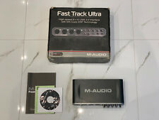 M-Audio Fast Track Ultra 8x8 USB Audio Interface - Boxed With Manuals Working