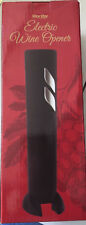 New listing Worthy Electric Wine Bottle Opener Black Silver New
