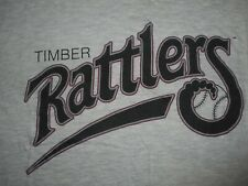Vintage 90s Majestic Wisconsin Timber Rattlers T-Shirt XL