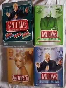 Fantomas Collection 3 Dvd Fuori Catalogo Edizione Vendita Completo Di Cofanetto