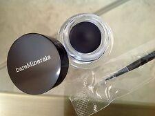 bareMinerals Baseline Silky Cream Eyeliner in RICH BLACK and Liner Brush