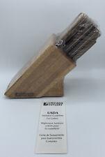Vintage USA CHICAGO CUTLERY 10 Pc. Piece Knife Set Walnut w/ Sharpener NEW