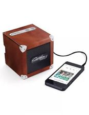 LUCKIES OF LONDON BROWN RETRO PORTABLE LUkSPE2 SPEAKER 2.0 FOR SMARTPHONES