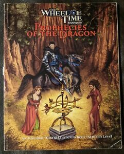 Wheel of Time RPG  Prophecies of the Dragon