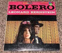 LP RECORD - LEONARD BERNSTEIN - BOLERO - RAVEL - MS 6011