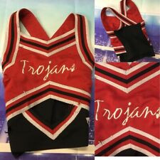 Real Cheerleading Uniform Zombie Top Youth Med