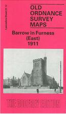 Old Ordnance Survey Mappa Barrow in Furness EAST 1911