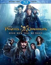 Disney Pirates of the Caribbean Dead Men Tell No Tales Blu-ray DVD Digital Copy