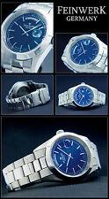Elegante obra fino-Germany Automatik reloj hombre día/fecha swiss made eta-fábrica de nuevo