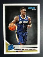 2019-20 Zion Williamson Rated Rookie Panini Donruss #201