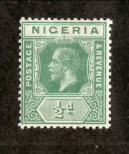 Nigeria--#1 MH--1914 King George V