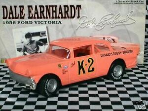 Dale Earnhardt K-2 1956 Ford Victoria Clear Window Bank