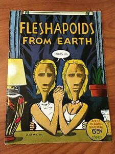 Fleshapoids from Earth #1  Comix 1974 FN/VF Underground SCARCE