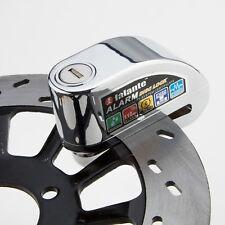 Motorcycle Bike 120DB Alarm Security Brake Disc Wheel Lock Safety & 2 Keys AU