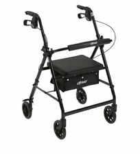 Drive Aluminum Adjustable Handle Rollator Walker With Seat