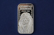 1975 The Silver Mint Chief Geronimo TSM-38 Silver Art Bar P0078