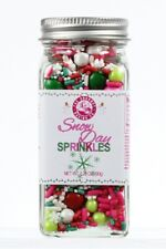 Snow Day Whimsical Blend Sprinkles For Baking & Decorating Baked Goods