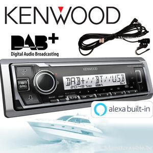 Kenwood KMR-M506DAB Marine Radio DAB+ Bluetooth digital 1-DIN Boot Bad