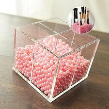 Makeup Brush Pen Cosmetic Storage Box Case Make Up Organizer Display Holder PK