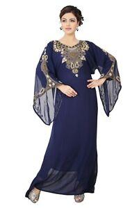 Traditional Algerian Kaftan Henna Party Gown Haute COUTRE Designer Abaya Dress