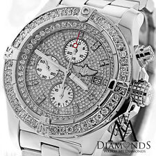 Diamond Breitling Super Avenger Diamond Dial A13370 Authentic Watch