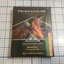 New Sealed PRISMACOLOR 12 Count Premier Nupastel Firm Pastel Color Sticks - Art