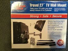 """Thumb Lock Travel 27"""" MRV3500 Strong Arm Removable LCD Mount Black LOC 4D"""