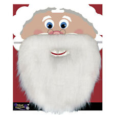 White Classic Santa Claus Beard Christmas Fancy Dress Party Accessory