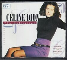 CELINE DION The Collection 2-CD BOX BR MUSIC HOLLAND w eurovision song FREEPOST