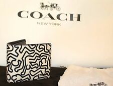 NWT Coach Keith Haring limited graffiti wallet with matching id case.SOLD OUT